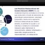 Reflexiones a partir del webinar: La neurobiología de la justicia restaurativa